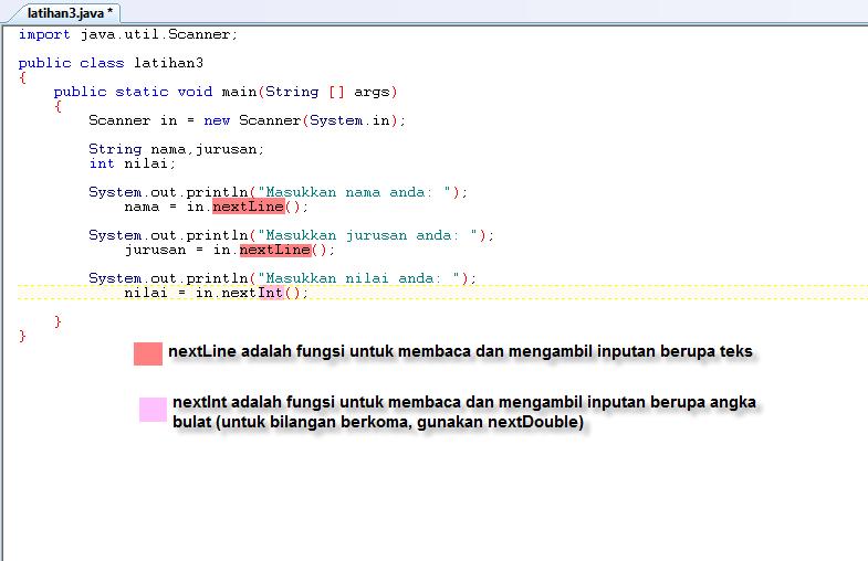 Membuat Scanner pada Java – Antony Budianto Blog